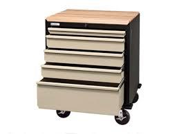 Mobile Tool Storage Cabinets Geneva Garage Gear U0027s 5 Drawer Mobile Garage Storage Cabinet