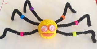how to make funky spiders for halloween dearmommies dearmommies