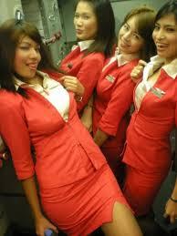 airasia uniform flight attendant uniform