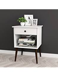 Nightstand With Drawer Nightstands Amazon Com