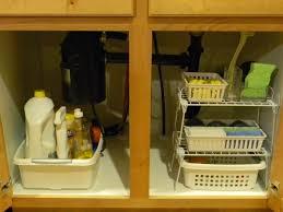 Under Kitchen Sink Organizer by Under The Kitchen Sink Organize And Decorate Everything