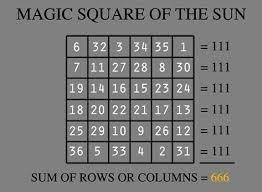 si鑒e social disneyland planetary spirit magic squares forms