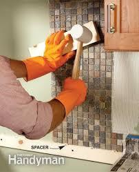 install tile backsplash kitchen how to tile a diy backsplash kitchen mosaic mosaics and kitchens