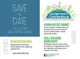 save the date emails save the date oct 1 2 2014 governor s conference on service