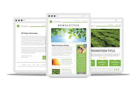 create email newsletter template 7 best images of create email newsletter template free email