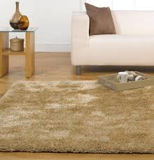 Luxury Shaggy Rug Large Soft Thick Luxurious Shaggy Rug In Natural 160 X 220 Cm 5 U00273