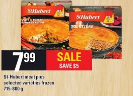 cuisine st hubert st hubert pies 715 800 g on sale salewhale ca