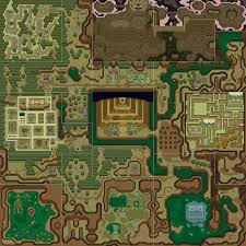 Skyward Sword Map A Link To The Past Overworld Map Dark World Png Gaming