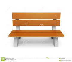 wooden park bench nature good place stock photo pictures with