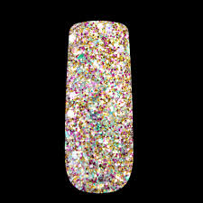 how to do acrylic nail art glitter nail art ideas