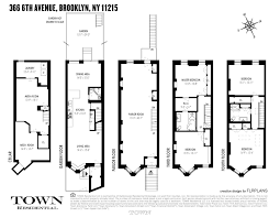 four story park slope brooklyn house for sale at 366 6th avenue