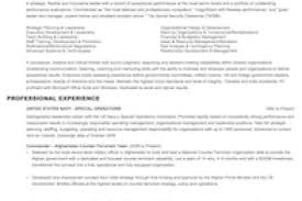Military To Civilian Resume Examples by Ex Military Resume Examples Reentrycorps