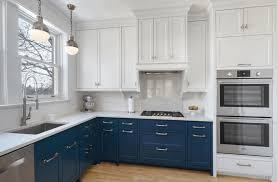 Off White Kitchen Designs Blue And Off White Kitchen Cabinets Kitchen Design