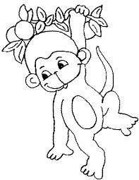 coloring luxury monkey colour piqkrp87t coloring