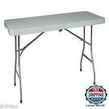 Folding Table On Wheels 6ft Banquet Folding Table On Wheels Spacious Catering Seating