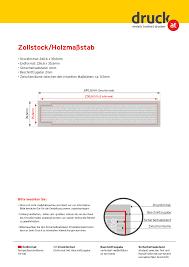 zollstock u0026 maßstab bedrucken druck