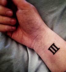 the 25 best roman numeral wrist tattoo ideas on pinterest roman