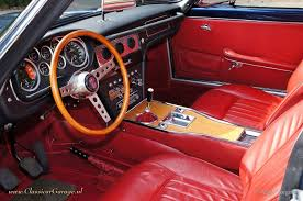 maserati spa interior maserati sebring 3500 gt i series 2 1965 car interiors