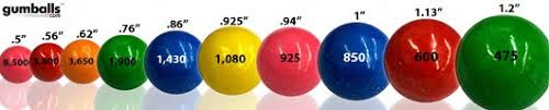 where can i buy gumballs buy gumballs by size from small to large gumballs