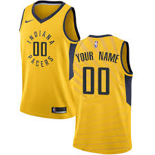 jersey design indiana pacers custom new nike nba indiana pacers basketball jersey sale