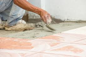 lovely how to install vinyl tile on concrete home design image