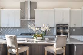 what color backsplash with gray cabinets expert backsplash ideas to complete your luxury kitchen