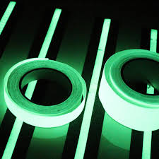 popular glowing paper buy cheap glowing paper lots from china new 1m 15mm luminous tape self adhesive glow in dark safety stage home decorations