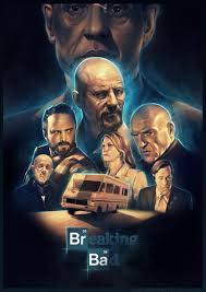 Breaking Bad Poster Breaking Bad Poster By Josh Summana