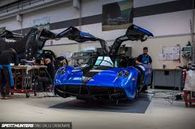 blue pagani assembling art touring pagani u0027s production line speedhunters