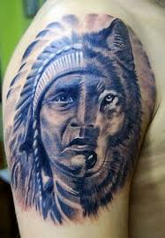 wolf tattoos designs ideas 3d indian favimages