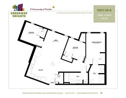 floor plans u2014 greenway heights family housing