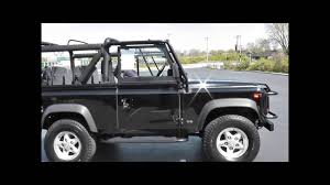 land rover defender 110 convertible 1995 land rover defender 90 soft top youtube