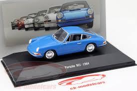 porsche 911 model cars ck modelcars ck27265 porsche 911 901 year 1964 blue 1 43 atlas