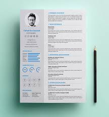 20 free resume template download psd ai resume examples
