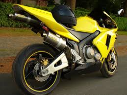 03 honda cbr600rr yellow u0026 black mint