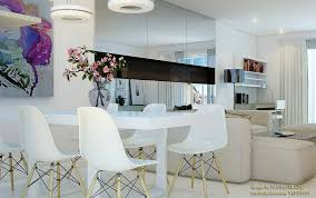 Mirrored Dining Room Furniture White Dining Room Mirrored Cabinets Interior Design Ideas