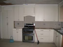 Kz Kitchen Cabinet by Rushmore Cabinets With Painted Hazelnut Glaze In The Kitchen With