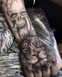 the 25 best lion hand tattoo men ideas on pinterest lion hand