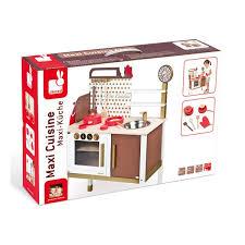 cuisine en bois jouet janod maxi cuisine chic janod la fée du jouet achat vente de jouets