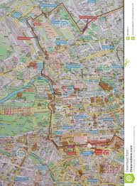 Map Of Berlin Germany by Street Map Of Berlin Wall Stock Photo Image 56768677