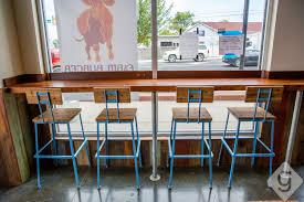 Kid Friendly Dining Chairs by A Look Inside Farm Burger Nashville Guru
