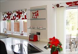 Christmas Kitchen Curtain by Kitchen Kitchen Window Decor Cafe Style Curtains Christmas