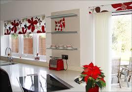 Cafe Style Curtains Red Kitchen Curtains Kitchen Valance Ideas Kitchen Kitchen