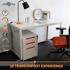 bureau top office customized mdf top office desk design steel modern desk