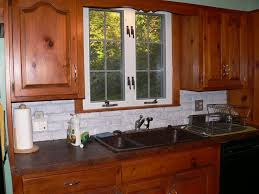 kitchen favorable window kitchen with green curtains ideas