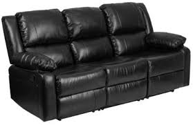 matrix power reclining sofa black art van furniture