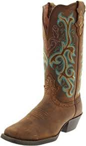 womens justin boots size 12 amazon com justin boots s collection 12 toe