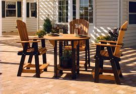 Patio Furniture Pub Table Sets - leisure lawn poly outdoor furniture might be just what you are