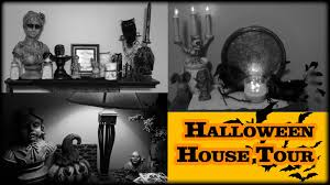 halloween indoor house tour 2015 not so scary halloween decor