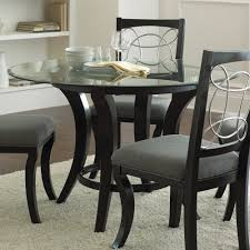 beautiful round glass dining room table pictures home design